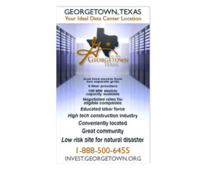 City of Georgetown Data Center Web Ads