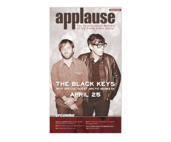 The Black Keys cover for Applause designed by Dan Poore