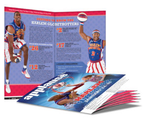 Harlem Globetrotters Cover and Article