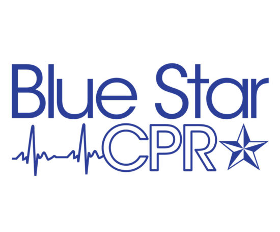 Blue Star CPR logo designed by Dan Poore