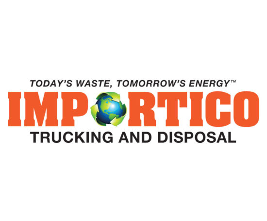 Importico Disposal logo designed by Dan Poore