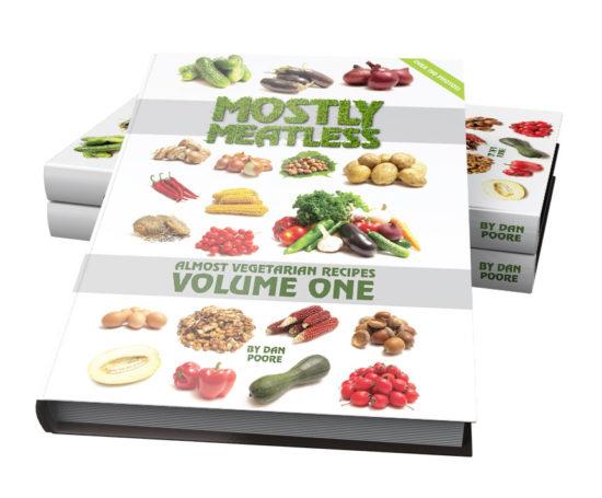 Mostly Meatless eBook designed by Dan Poore