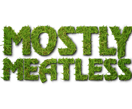 Mostly Meatless logo designed by Dan Poore