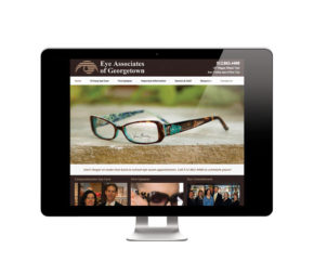 Eye Associates of Georgetown WordPress Website